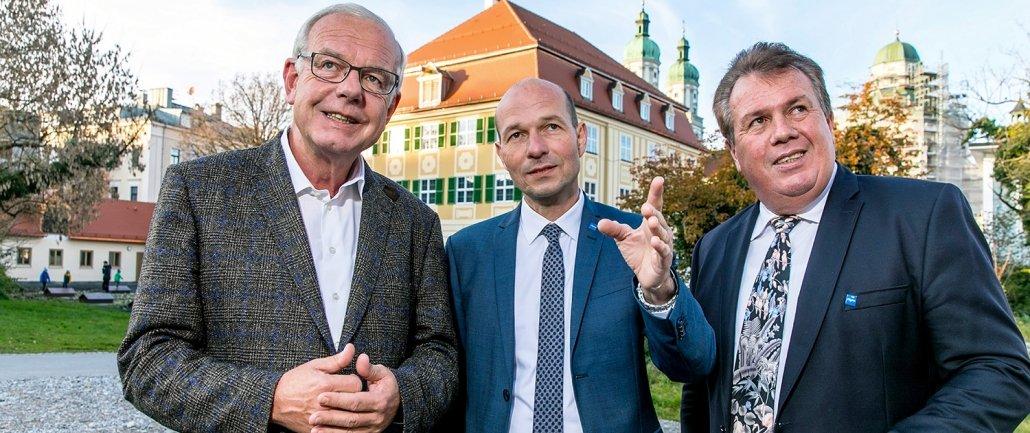 Thomas Kreuzer, Thomas Kiechle und Erwin Hagenmaier