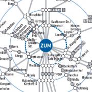 MONA Buslinien-Spinne ZUM